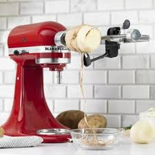 kitchenaid spiralizer attachment. kitchenaid spiralizer fits all stand mixer models; attachment kitchenaid s
