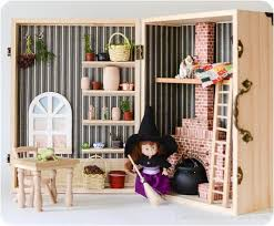 make your own barbie furniture. Turn A Wooden Box Or Vintage Suitcase Into Portable House. Make Your Own Barbie Furniture
