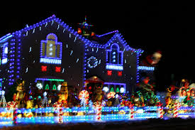 Christmas Decorated Houses Decorations Houses Home Design