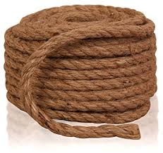 Twisted Sisal Rope, 3/8-Inch by 50-Feet, All Natural