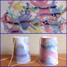 Das Ist Ja Zum Pusten Papier Gestalten Mit Wasserfarbe Und