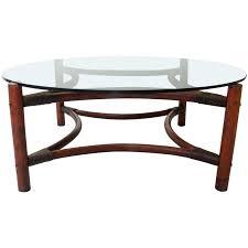 bamboo coffee table glass top coffee table bamboo coffee table wood round lacquered glass metal base bamboo coffee table