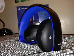 Review \u0026 Mic Test: Gold Wireless Stereo Headset for PS4/PS3 - YouTube