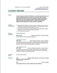 resume example for college student Simple Resume Template Word 18 Basic  Resume Template From Etsy .
