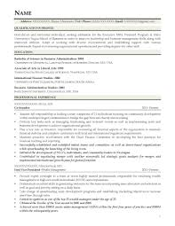 Mba Graduate Resume Examples Awesome Collection Of Mba Graduate Resume Examples Charming Resume 13