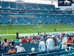 Miami Dolphins Hard Rock Stadium Seating Chart Hard Rock Stadium Section 120 Seat Views Seatgeek