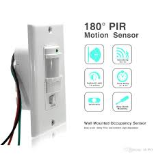 Light Sensitive Switch Automatic Light Switch 2019 110v 220v On Off Auto Wall Mount Motion Sensor Switch Automatic Pir Infrared Sensor Light Switch With 9m Max From Ok360 7 4 Dhgate Com