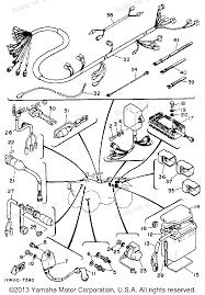 1986 yamaha moto 4 atv wiring diagram yamaha moto atv