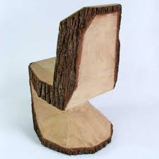handmade modern wood furniture. Log Shair Handmade Modern Wood Furniture