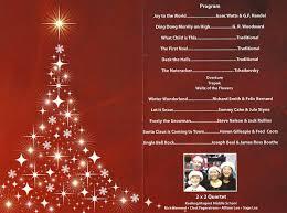 Christmas Program Sample Christmas Program Highlights Patrick Henry Chapter Sar