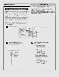 garage modern garage door opener repair best of sectional garage door installation manual luxury chamberlain