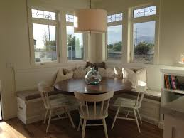 Breakfast Nook Kitchen Table Breakfast Nook Square Booth Round Table Kitchen Pinterest