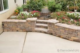 Small Picture Diy RumbleStone Seat Wall and Fire Pit Kit Installation
