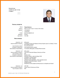 Standard Resume Format Pdf Gulijobs Com