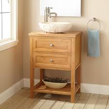 24 vessel sink vanity. Fine Vanity Stylish Bathroom Vanity For Vessel Sink 24 Narrow Depth Taren Bamboo Less  Cheap Fort Lauderdale Myer Small Beach House Double Makeup And 2
