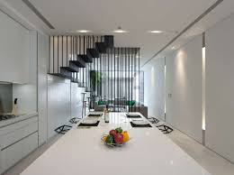 Stylish Modern Home Interior Design in Black and White