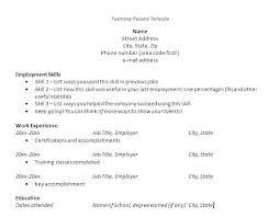 Free Resume Builder Download Resume Free Maker Free Resume Template ...