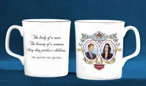 prince harry s face printed on william and kate royal wedding