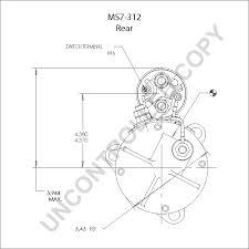 Ms7 312 starter motor product details prestolite leece neville