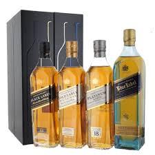 johnnie walker 20cl collection gift set