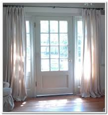 front door side window curtainsSidelight Window Treatments on the Main Entry Doors  HomesFeed