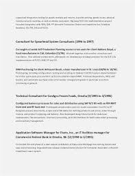 Federal Resume Template Fascinating Sample Federal Resume For Program Specialist New Professional