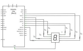 segment display playground 1 4 7 segment circuit