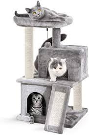 Eono by Amazon <b>Cat Tree Sisal</b> Scratching Post Kitten Furniture ...