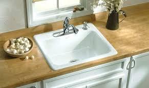 white single bowl kitchen sink. Kohler Undermount Single Bowl Kitchen Sink White K 4 0 Cast D