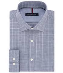 Tommy Hilfiger Mens Soft Touch Button Up Dress Shirt