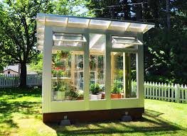 backyard office prefab. studio sproutu0027s backyard greenhouse combines stylish form with fabulous function office prefab