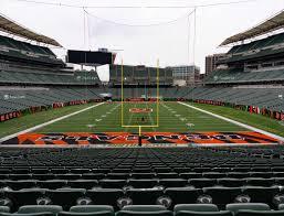 Paul Brown Stadium Section 154 Seat Views Seatgeek