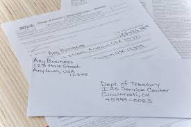How to Change a Business Address With the IRS | Bizfluent