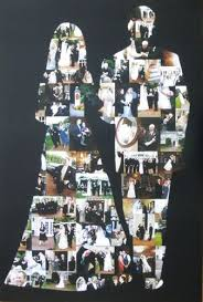 Fabulous Wedding Picture Collage Ideas Wedding Photo Collages Photo Collages  And Newlyweds On Pinterest