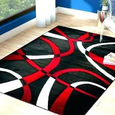 gray and red area rug opcregiondemurciaorg red black and gray area rugs red black gray area