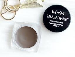 nyx tame and frame brow pomade review