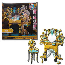 Monster High Furniture Cleo De Nile Vanity Playset