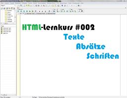 HTML-Lernkurs: Texte, Absätze, Schriften [#002] - YouTube