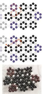 Hexagon Angle Stitch Bracelet Band Tutorial