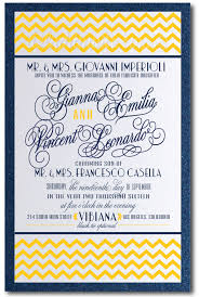 navy blue and yellow chevron wedding invitation [di 5008 Wedding Invitations Navy And Yellow navy blue and yellow chevron wedding invitation navy blue and yellow wedding invitations