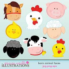 baby farm animals clip art. Interesting Art More Farm Clipart  Barn Animal Faces  Clip Art Clipart Library For Baby Farm Animals Art N