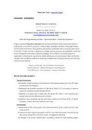 Famous Sales Executive Resume Sample Download Pictures Inspiration