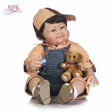 NPK NEW 22inch free shipping <b>reborn baby doll</b> silicone vinyl real ...