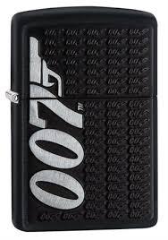 <b>Зажигалка Zippo James</b> Bond с покрытием Black Matte, 29718 на ...
