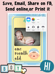 screenshot 5 for baby milestone frames baby photo editor