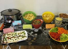 Style Me Thrifty - party food