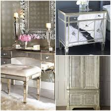 Silver Mirrored Bedroom Furniture Hayworth Mirrored Silver Dresser Loading Zoom Loudhaze In Pier 1