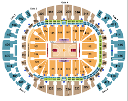 Chicago Bulls Seating Chart Rows Chicago Bulls Vs Miami Heat Tickets And Schedule