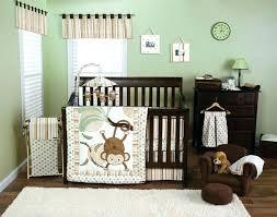 baby nursery monkey baby nursery crib bedding sock decor decorations room