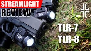 Streamlight Tlr Comparison Chart Streamlight Tlr 7 And Tlr 8 Flashlight Review